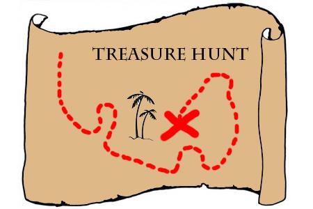 Treasure Hunt Map