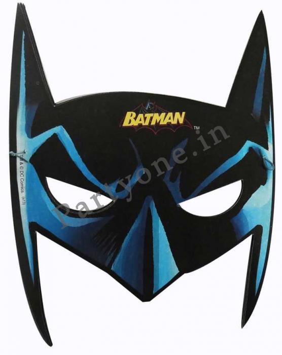 batman face mask set of 10