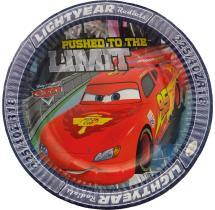 Disney Cars Paper Plates - 9 Inch - Set Of 10