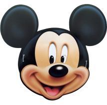 Disney Mickey Mouse Face Masks - Set Of 10