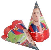 Fcb Messi Party Caps ( Set Of 10 )